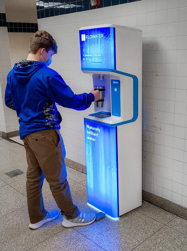 flowater machine for schools